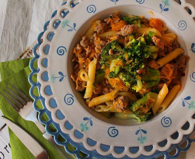 Pennette d'autunno: broccoli, zucca e salsiccia al finocchietto!