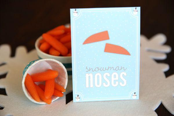 Snowman Party Printables | Our Best BitesOur Best Bites
