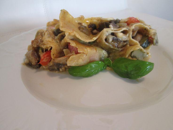 Cannelloni z warzywami .