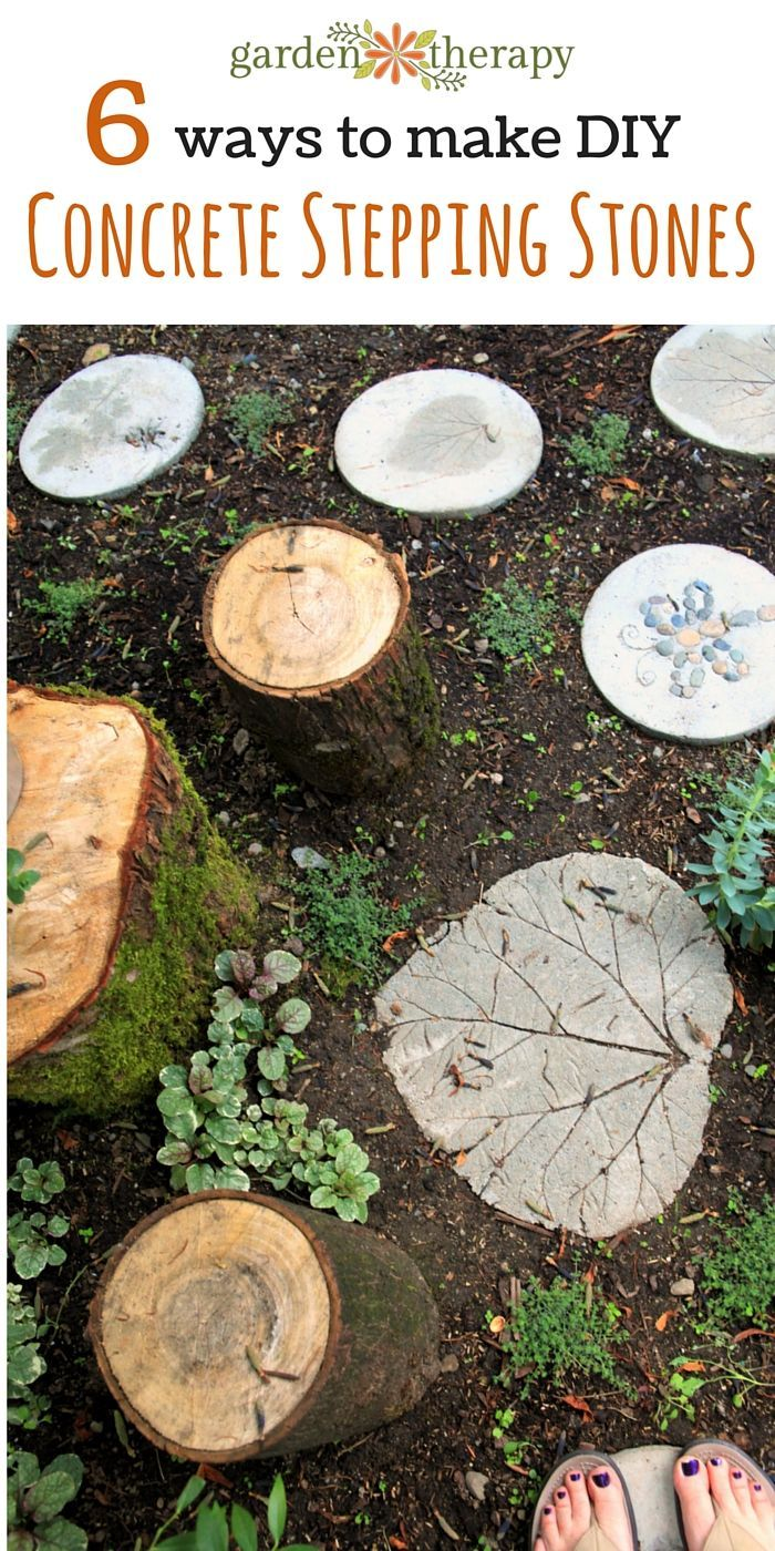 Forge Your Own Path: 6 Ways To Make DIY Concrete Stepping Stones