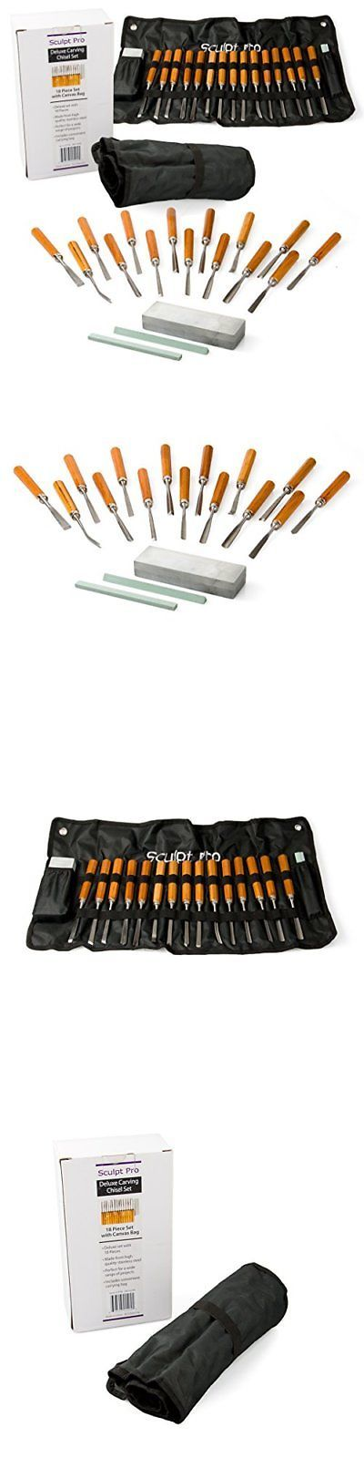 Wood Carving Hand Tools 160677: Wood Carving Chisel Set- Professional Wood Carving Tools Deluxe 18 Pieces Wit... -> BUY IT NOW ONLY: $34.59 on eBay!