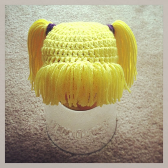 7 best images about Wig-type Beanies {For Sharron} on Pinterest Little miss...