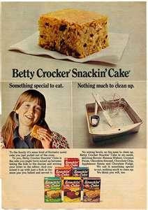 Betty Crocker Chocolate Chip Snackin Cake