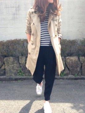 yuko│FREAK'S STORE Military jacket Looks - WEAR