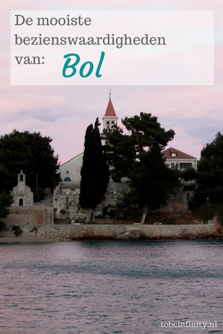 Bol, op het eiland Brac in Kroatië, staat vooral bekend om het strand van de 'gouden hoorn'. Maar dit fijne kustplaatsje heeft nog veel meer te bieden. De leukste bezienswaardigheden van Bol, lees je hier!