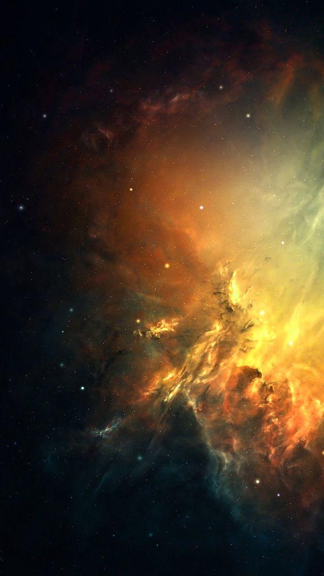 Supernova Explosion Remnant iPhone 5 Wallpaper