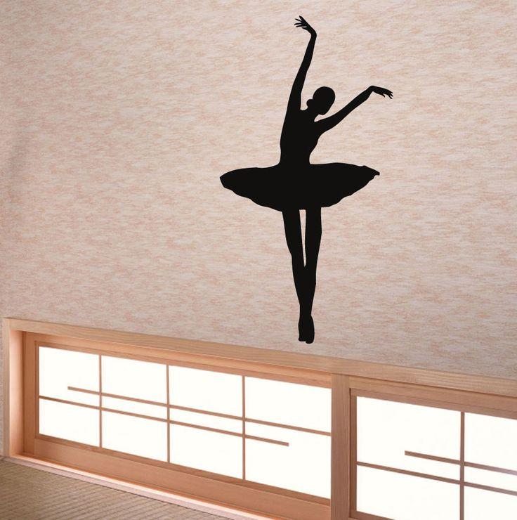 118 best let 39 s dance images on pinterest dance studio for Ballerina wall mural