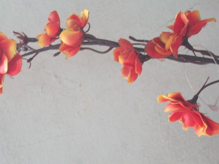 handmade 3d flowers for  a bouquet