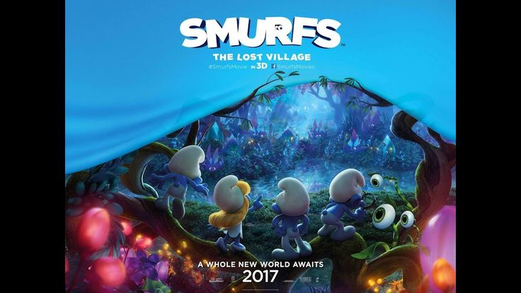Smurfs: The Lost Village Official Trailer #1 (2017) Animated Movie  HD  With the evil wizard Gargamel (Rainn Wilson) hot on their trail, Smurfette (Demi Lovato), Brainy (Danny Pudi), Clumsy (Jack McBrayer) and Hefty (Joe Manganiello) embark on a journey through the Forbidden Forest to find a mysterious village.  Initial release: April 7, 2017 (USA) Director: Kelly Asbury Screenplay: Pamela Ribon Music composed by: Christopher Lennertz Art director: Marcelo Vignali