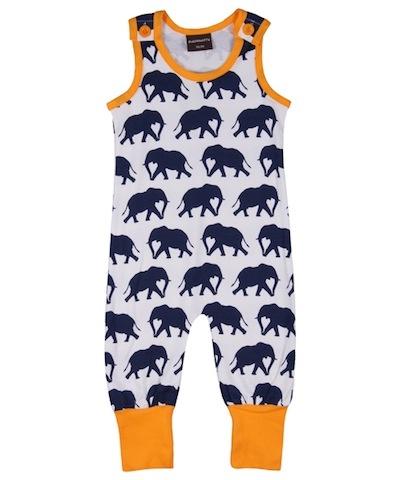 Maxomorra Elephant Dungarees £14.99