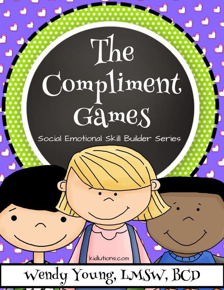The Compliment Games: Our newest resource for social skill building