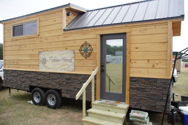 During the Tiny House Jamboree I had the chance to visit nearly 50 tiny houses, but there was one in particular I kept coming back to over and over…and I couldn't figure out why. The Prairie Schooner by Wander Homes in Lufkin, Texas was not particularly large or dynamic, but there was something about it …