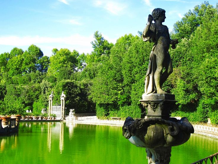 Boboli Gardens Italy The Are An Elaborate Park In Central Florence It