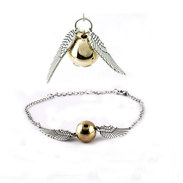 Fashion New Silver And Golden Imitation Pearl Angel Wings Jewelry Peace Bracelet Necklace Jewelry Sets