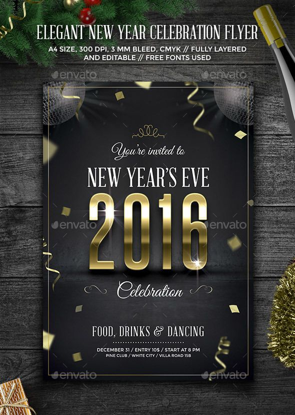 103 best Festival images on Pinterest Backgrounds, Banner and - new year brochure template