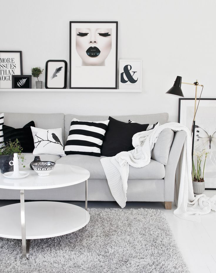 Art prints as home decor, Black feather, Black lips, Issues and Ampersand. Find them at desenio.se.