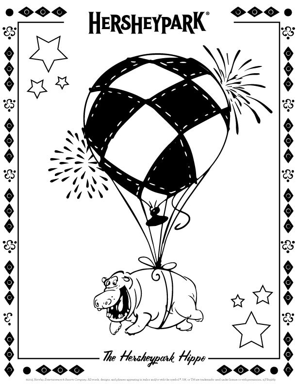 hershey coloring pages for kids - photo#27