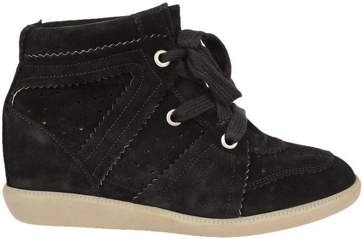 Isabel Marant Bobby Hi-top Sneakers