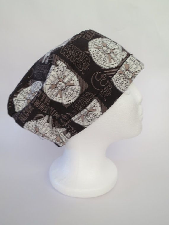Scrub Cap Hat Theatre Surgical Cap   'Star by SnazzyScrubHats