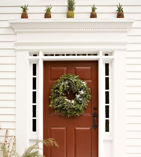 Christmas Door Frame Decorations: 47 Best Front Door Ideas Images On Pinterest