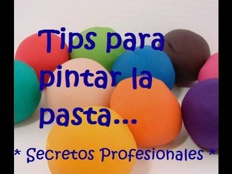 Como pintar y dar color a la porcelana fria / pasta flexible* TIPS QUE NO TE PUEDES PERDER!