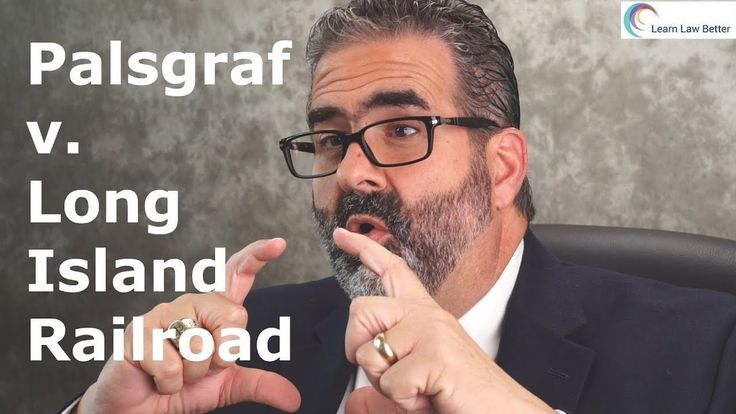 Palsgraf v. Long Island Railroad is a classic torts case that is read by students around the world. Learn the rule from the case, as well as additional facts not included in the case that help to make sense of what happened. Share you experience reading this case at https://youtube.com/LearnLawBetter