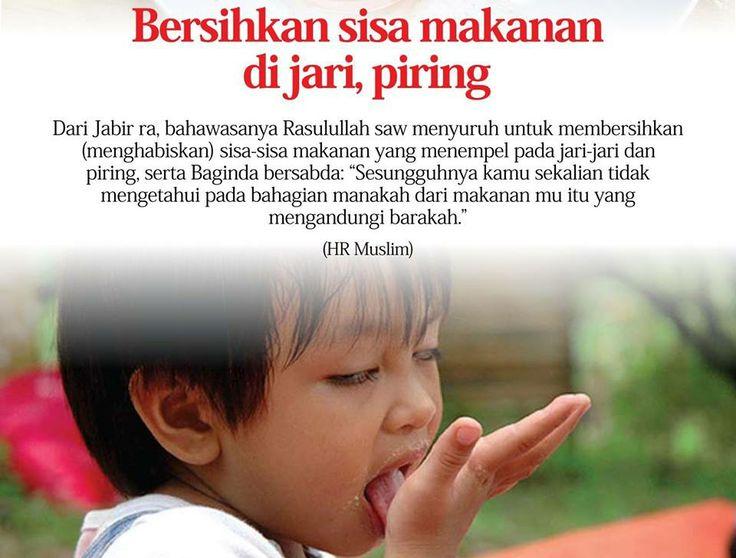 Sunnah Jilat Jari