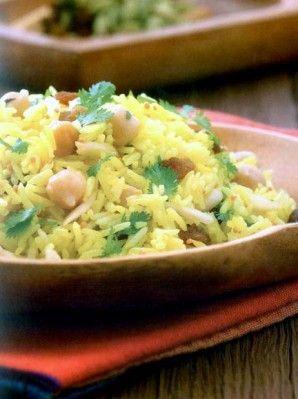 Indiai rizssaláta