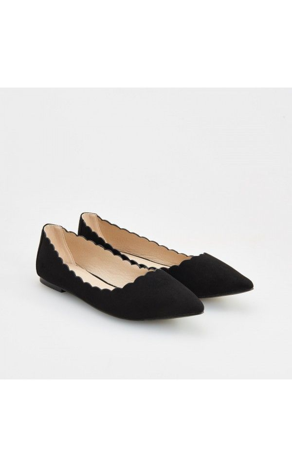 BALLERINA, SHOES, black, RESERVED