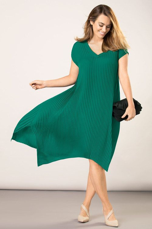 Sara Pleated Dress