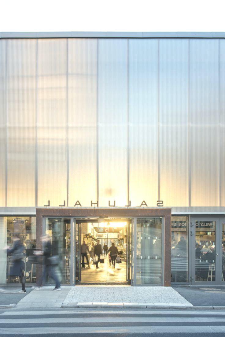 Erfolgsarchitektur   Temporäre Markthalle in Stockholm ...