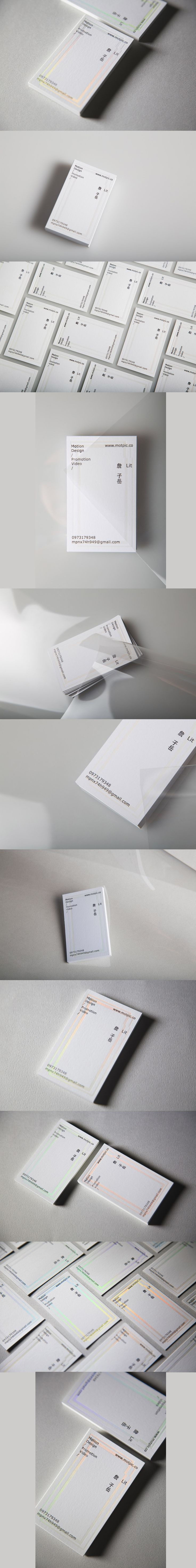 Lit - Business card | Designer / Chun-Ta Chu