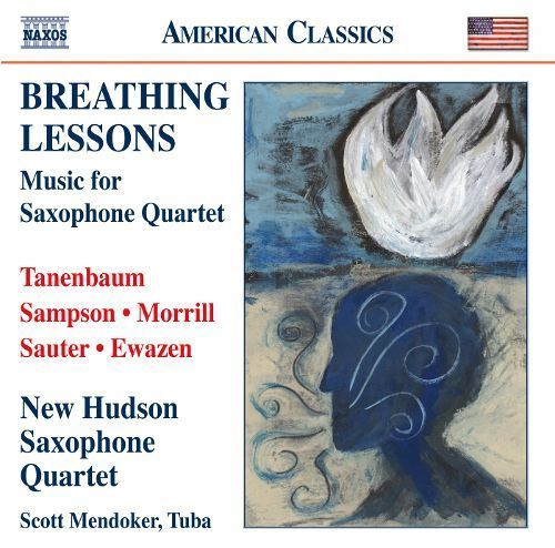 Breathing Lessons: Music for Saxophone Quartet [CD]