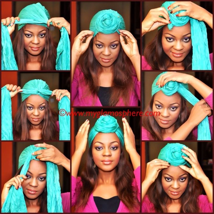 Hair Tag : How To Tie A Turban In Less Than 2 Minutes. - Glam O' Sphere