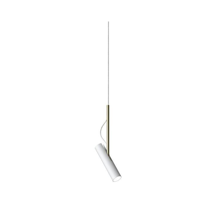 Nordlux MIB 3.5 LED 74673043 White/Brass Pendant Light