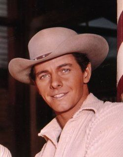 "Peter Brown-(10/05/1935-03/21/2016) tv actor best remembered for ""Lawman""1958-1962"