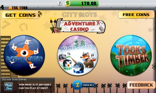 City Slots on Android Market