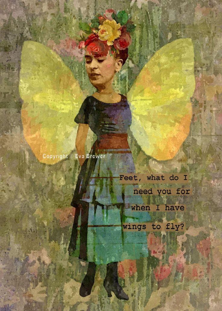 Frida Kahlo digital collage