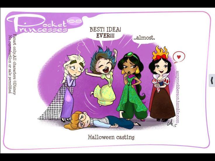 Pocket Princesses (Part 17c) by Amy Mebberson
