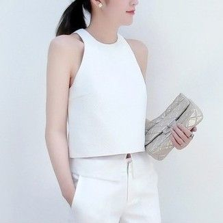 Obira Layered Textured Top - White $55.00 http://www.helloparry.com/collections/july-arrivals/products/obira-layered-textured-top-white