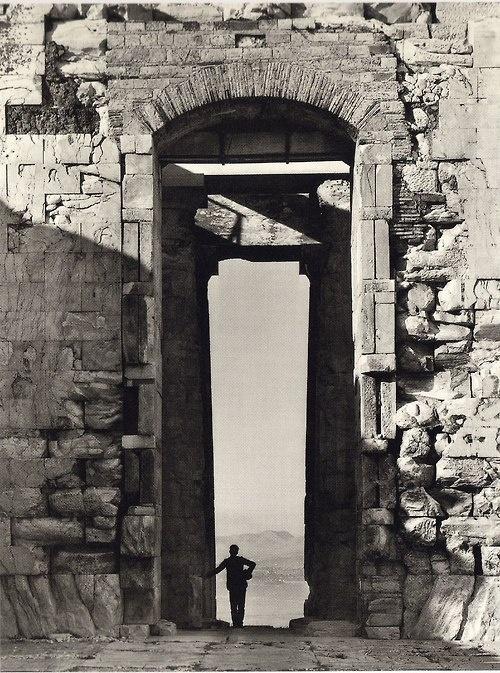 The Parthenon - Fréderic Boissonnas,  1908