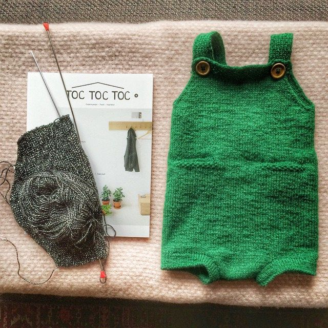 Ravelry: bpro's Ministrikk pocket playsuit. 6 months to 3 years