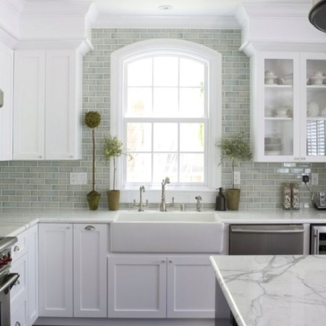 Grey Kitchen Subway Tile: 17 Best Images About Kitchen Re-do On Pinterest