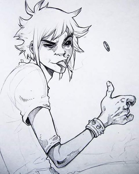ALL OF MY GORILLAZ PICS ARE ON MY LAPTOP AND I WANNA CRY //credit to…