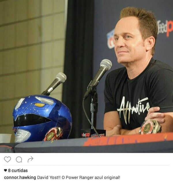 David Yost and respect true!