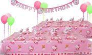 Hello Kitty Doğum Günü Parti Seti 16 Kişilik Sizin İçin Bir Doğum Gününde Kullanabileceğiniz Bütün Doğum Günü Parti Malzemelerini Bir Araya Getirdik.