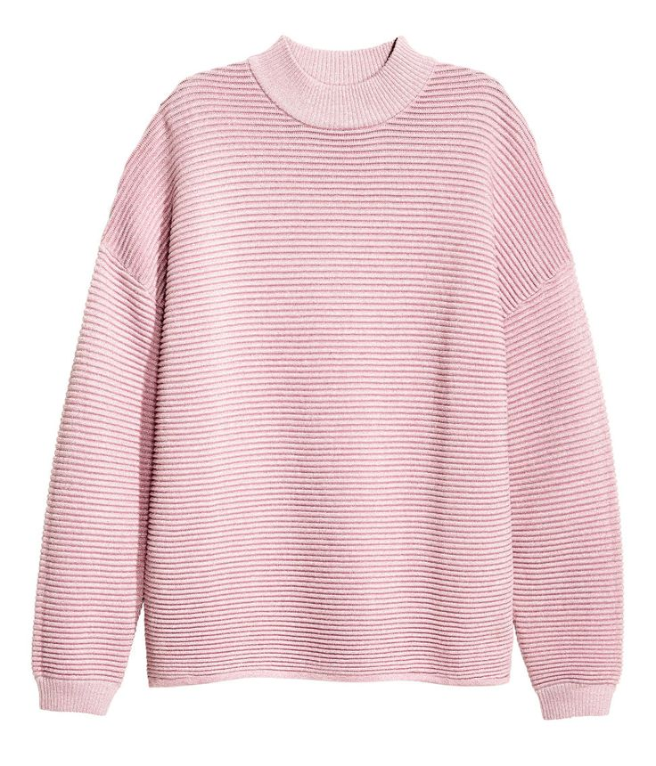 Textured-knit Sweater | Warm in H&M