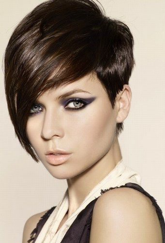 Brunette hairstyles 2011: short dark, brown, brunette hairstyle ideas by Marcus King © Hooker & Young - Hairstyles 2013: haircuts 2013, women hair styles 2013