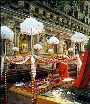 "Bodh Gaya, ""The Place of Enlightenment"" Vajrasana, India"