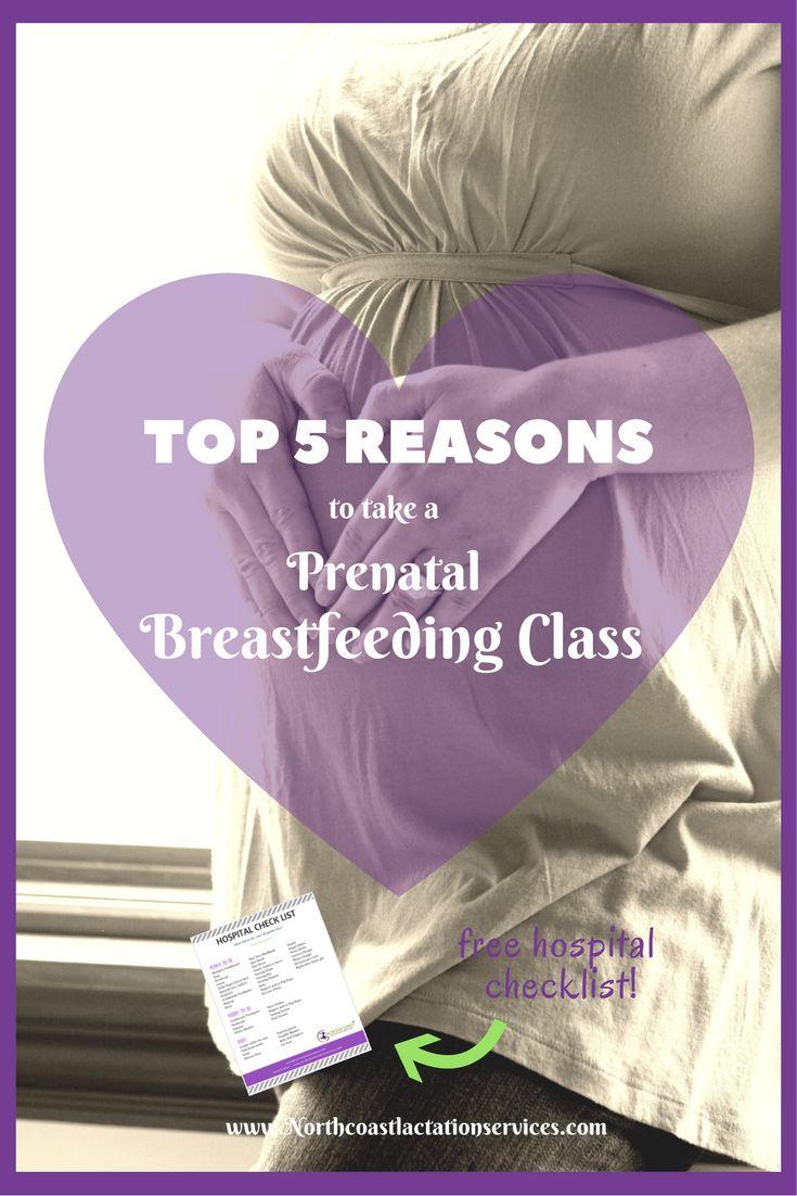 Top 5 Reasons to take a Prenatal Breastfeeding Class! Breastfeeding | Pregnancy | Breastfeeding Tips | Lactation